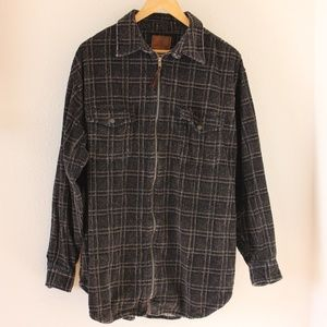 Vintage Plaid Corduroy Jacket